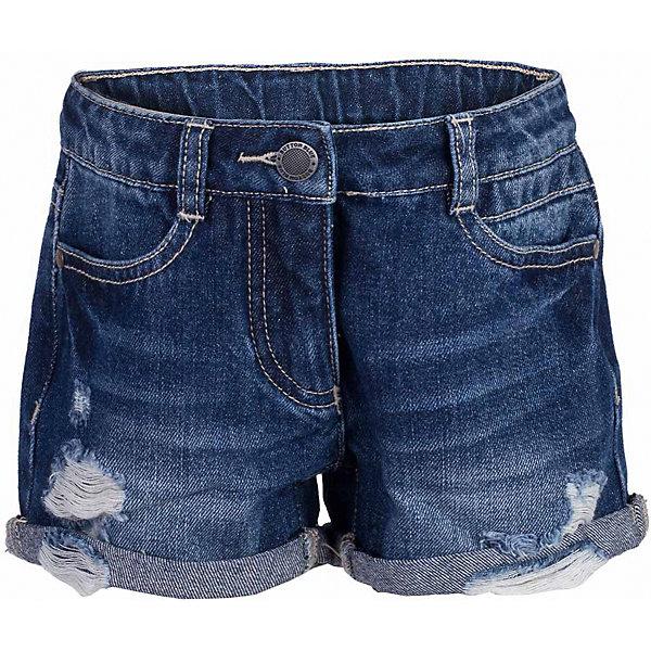 Button Blue Шорты джинсовые для девочки BUTTON BLUE шорты