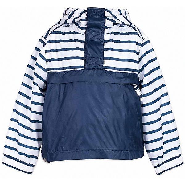 Куртка для мальчика  BUTTON BLUEВерхняя одежда<br>Куртка для мальчика  BUTTON BLUE<br>Яркая ветровка - прекрасное решение для летней прохлады. Модная форма, динамичная комбинация глади и полоски, продуманные детали подарят отличное настроение. Капюшон надежно защитит от дождя и ветра. Хлопковая трикотажная подкладка создаст уют. Если вы решили купить стильную ветровку для мальчика недорого, но хотите быть уверены в ее комфорте, качестве, высоких потребительских свойствах, полосатая ветровка Button Blue - то, что нужно!<br>Состав:<br>Ткань  верха: 100% полиэстер, подклад: 100% хлопок/ 100% полиэстер<br>Ширина мм: 356; Глубина мм: 10; Высота мм: 245; Вес г: 519; Цвет: белый; Возраст от месяцев: 84; Возраст до месяцев: 96; Пол: Мужской; Возраст: Детский; Размер: 128,152,122,116,110,104,98,158; SKU: 5524533;