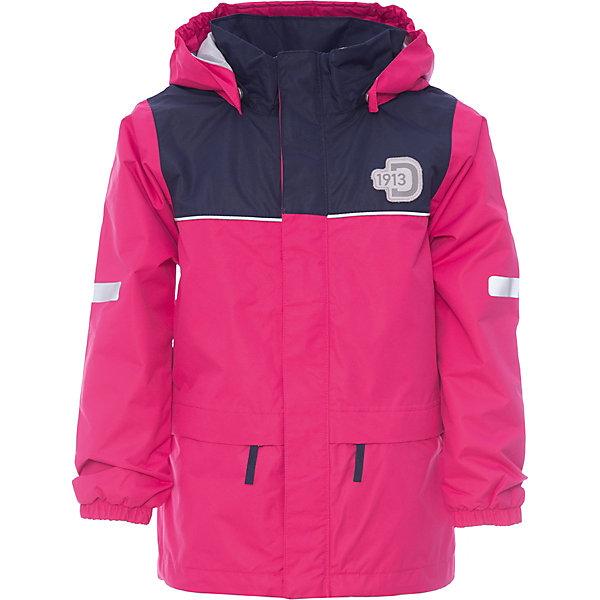 Куртка JEZERI для девочки DIDRIKSONSВерхняя одежда<br>Характеристики товара:<br><br>• цвет: розовый<br>• материал: 100% полиэстер, покрытие 100% полиуретан<br>• подкладка: 100% полиэстер, трикотаж<br>• утеплитель: нет<br>• температурный режим: от +5°С до +20°С<br>• сезон: демисезон<br>• мембранная<br>• водонепроницаемость: 5000 мм<br>• воздухопроницаемость: 4000 мм<br>• ветронепродуваемая<br>• дышащя ткань<br>• проклеенные швы <br>• планка на молнии<br>• застежка: молния<br>• капюшон отстегивается с помощью кнопок<br>• защита подбородка от защемления<br>• карманы на молнии<br>• манжеты на резинке<br>• система увеличения размера<br>• утяжка по подолу с фиксатором<br>• легкий уход <br>• страна бренда: Швеция<br>• страна производства: Китай<br><br>Демисезонная куртка из непромокаемой и непродуваемой мембранной ткани. Все швы проклеены, что обеспечивает максимальную защиту от внешней влаги. Подкладка из полиэстера. Съемный регулируемый капюшон. Рукава -  на резинке. Светоотражатели. Модель растет вместе с ребенком: уникальный крой изделия позволяет при необходимости увеличить длину рукавов на один размер, распустив специальный внутренний шов. <br><br>Куртку JEZERI для девочки от бренда DIDRIKSONS (Дидриксонс) можно купить в нашем интернет-магазине.<br>Ширина мм: 356; Глубина мм: 10; Высота мм: 245; Вес г: 519; Цвет: розовый; Возраст от месяцев: 60; Возраст до месяцев: 72; Пол: Женский; Возраст: Детский; Размер: 120,110,130,80,100,90,140; SKU: 5527221;