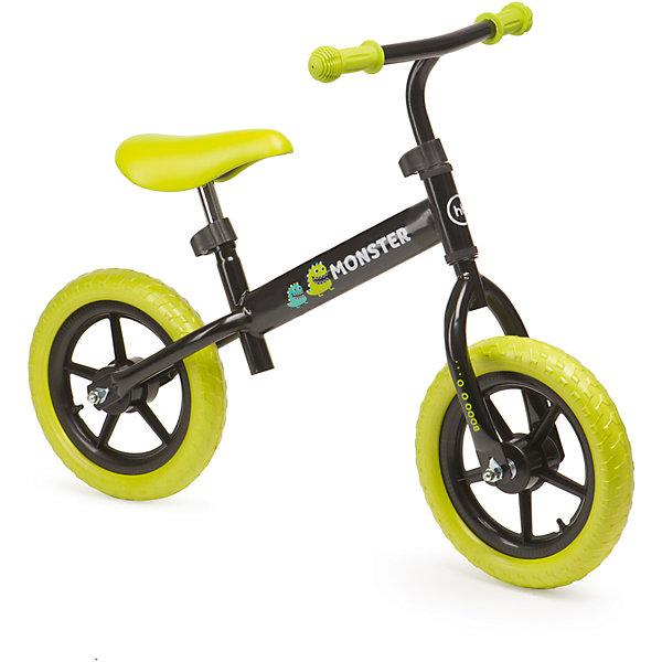 Беговел MOBYX, зеленый, Happy BabyБеговелы<br>Характеристики товара:<br><br>• возраст от 2 лет<br>• максимальная нагрузка до 27 кг<br>• рост ребенка 95-125 см<br>• цвет зеленый<br>• материал: сталь, пластик, полиуретан, резина<br>• удобное эргономичное сиденье<br>• бесшумные колёса<br>• стальная рама<br>• колёса: полимерные колеса с имитацией ниппелей<br>• высота сидения 42-54 см<br>• высота руля 56-68 см<br>• длина беговела 82 см<br>• вес беговела 3 кг<br>• размер упаковки 68х36х17 см<br>• вес упаковки 3,69 кг<br>• страна производитель: Китай<br><br>Беговел «MOBYX», зеленый, Happy Baby представляет собой велосипед, но без педалей. На нем ребенок учится кататься, отталкиваясь ножками. В процессе катания ребенок учится сохранять равновесие и координировать движения. <br><br>Беговел изготовлен из прочной стали. Сидение и руль регулируются под рост ребенка. Колеса обеспечивают бесшумную плавную езду.<br><br>Беговел «MOBYX», зеленый, Happy Baby можно приобрести в нашем интернет-магазине.<br>Ширина мм: 680; Глубина мм: 360; Высота мм: 170; Вес г: 3690; Возраст от месяцев: 12; Возраст до месяцев: 36; Пол: Унисекс; Возраст: Детский; SKU: 5527343;