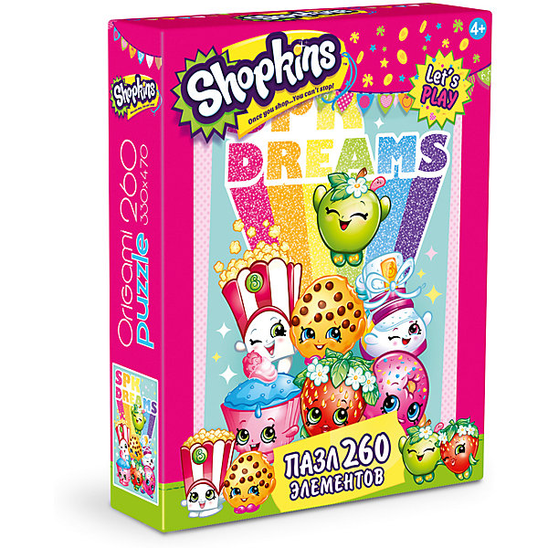 Origami Пазл Shopkins dreams, Shopkins,