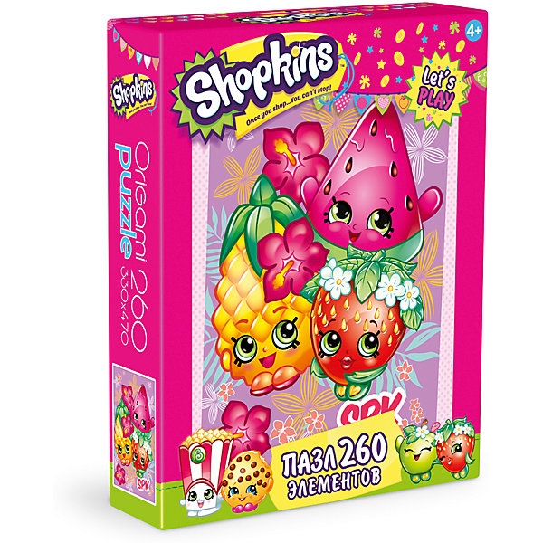 Origami Пазл Тропикал, Shopkins, Origami a maze of death