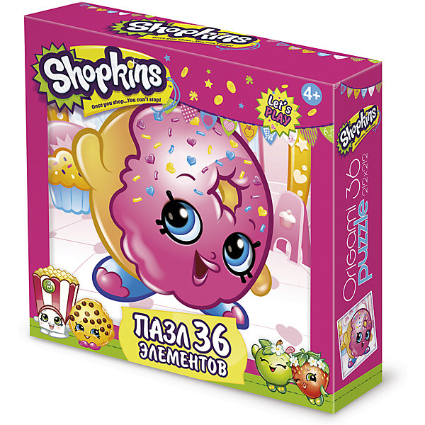Origami Пазл D'lish Donut, Shopkins, Origami usb 300 kp driverless clip on webcam with built in microphone for pc laptop deep pink page 5