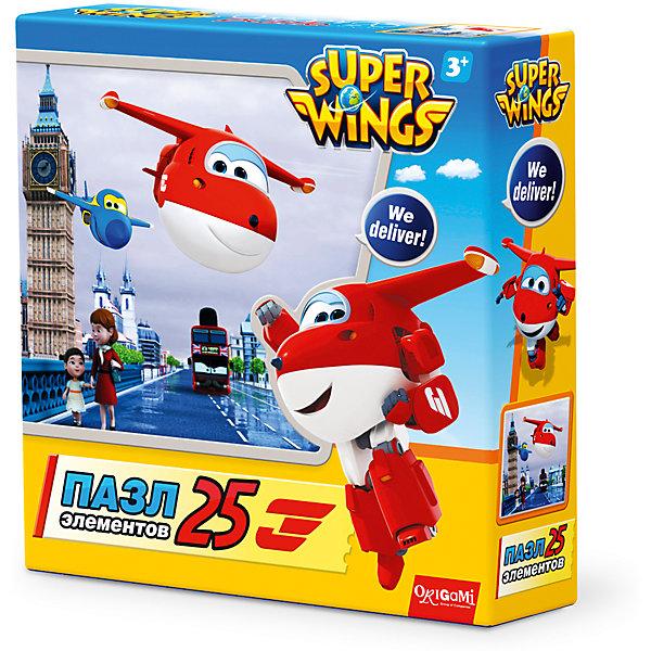 Origami Пазл Туманный Альбион, Super Wings, Origami super wings пазл для малышей джетт и команда