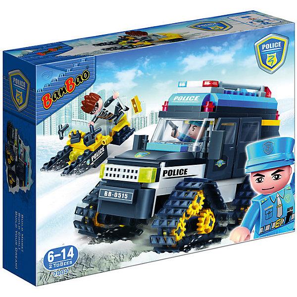 BanBao Конструктор Полицейский вездеход, 315 дет., BanBao