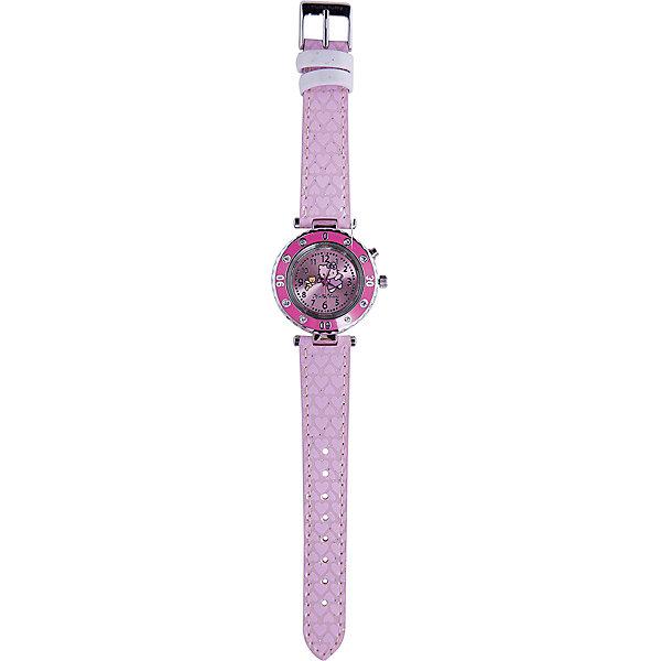 - Часы наручные аналоговые с подсветкой, Hello Kitty