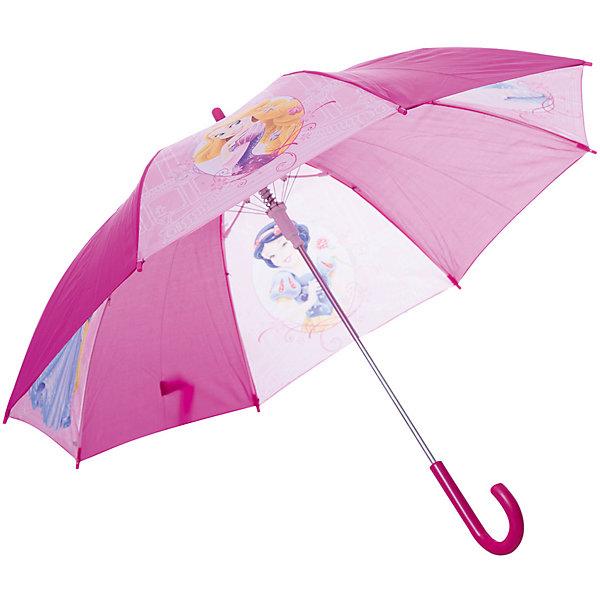 Детское время Зонт-трость 46 см, автоматический, фиолетовый, Disney Princess paradise зонтик от солнца и дождя (upf50 ) автоматический складной в три раза