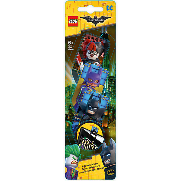 LEGO Набор закладок для книг, 3 шт., LEGO new hot 25cm batman batgirl justice league batwoman enhanced version action figure toys collection christmas gift