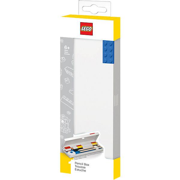 LEGO Пенал, цвет: синий, LEGO канцелярские наборы lego набор канцелярских принадлежностей 13 шт в комплекте lego friends подружки