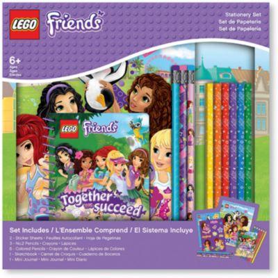 Набор канцелярских принадлежностей, 13 шт. в комплекте, LEGO, артикул:5529381 - Школьная канцелярия