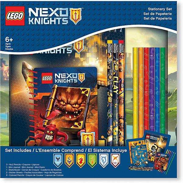 LEGO Набор канцелярских принадлежностей, 13 шт. в комплекте,