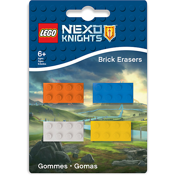 LEGO Набор ластиков, 4 шт., LEGO