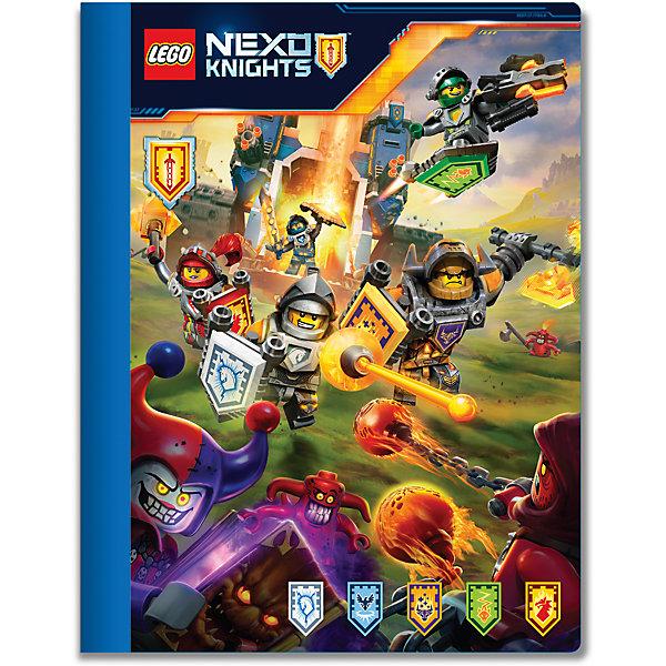 LEGO Тетрадь 100 листов, линейка,