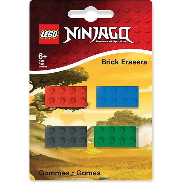 Купить Набор ластиков, 4 шт., LEGO, Китай, Мужской