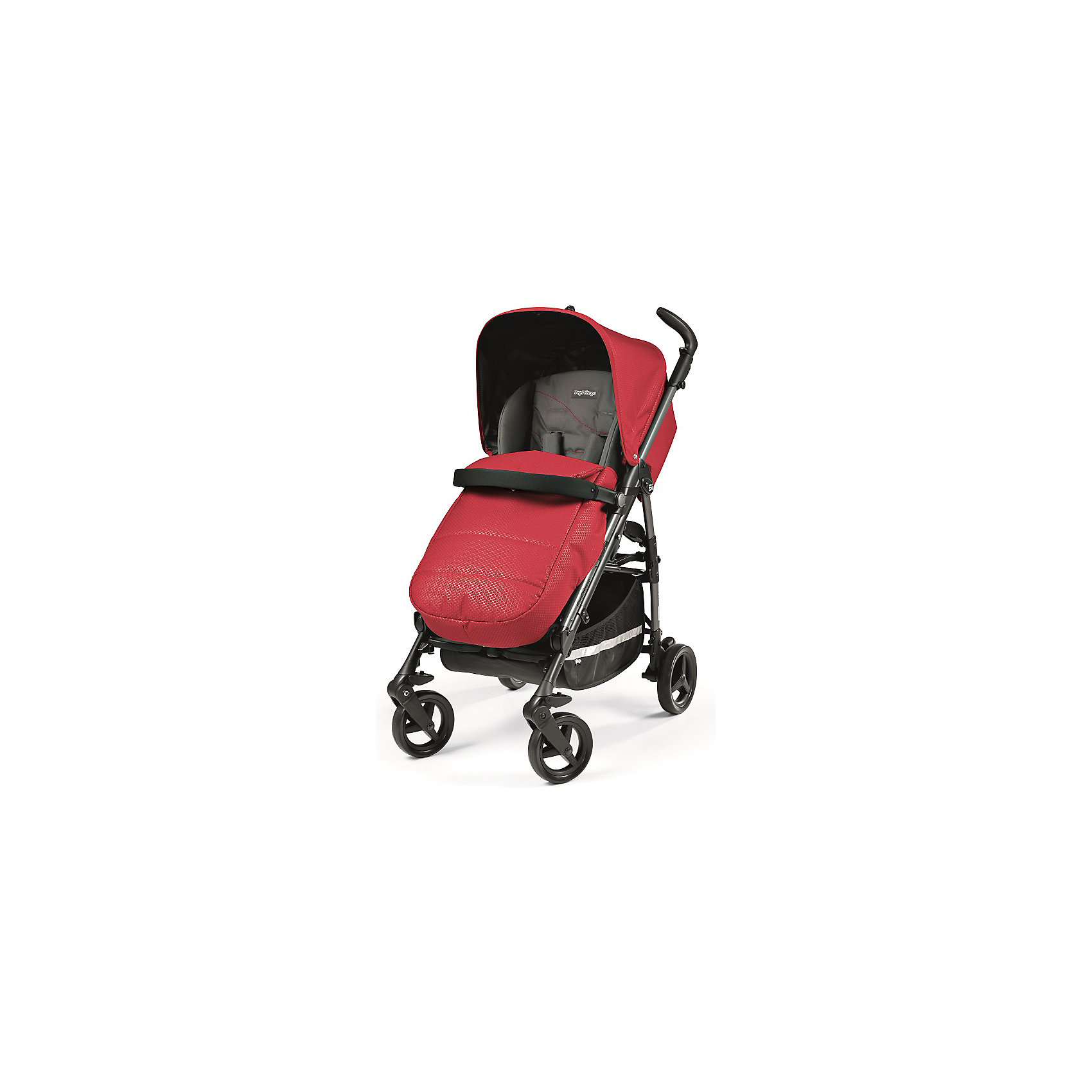 Peg Perego Коляска-трость Peg-Perego Si Completo, Bloom Red