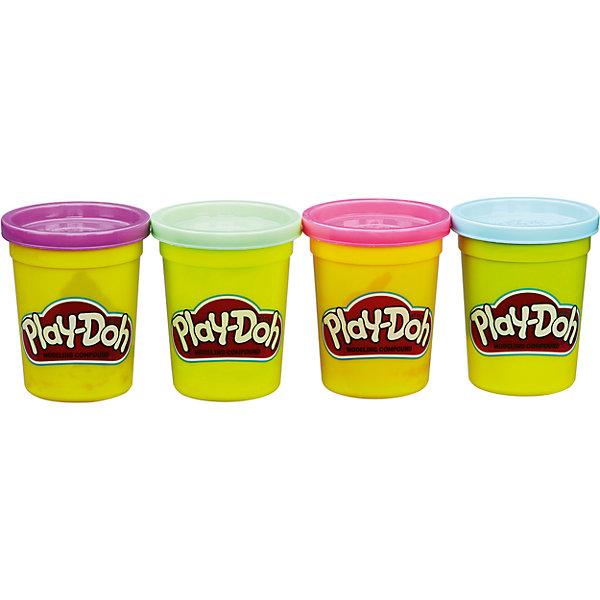 где купить Hasbro Набор из 4 баночек , B5517/B6510, Play-Doh, Hasbro дешево