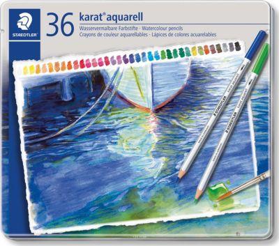 Карандаш акварельный KaratAquarell набор 36 цветов, артикул:5529975 - Рисование и раскрашивание