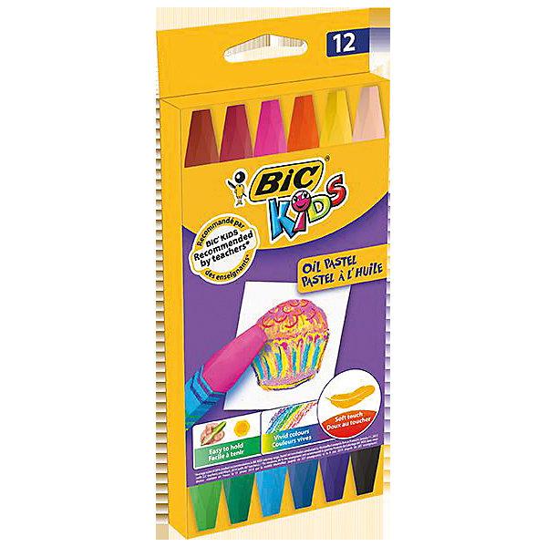 Пастель масляная BIC Kids, 12 цветовМасляные и восковые мелки<br>Пастель масляная BIC Kids, 12 цветов.<br><br>Характеристики:<br><br>• Для детей в возрасте: от 3 лет<br>• В наборе: 12 разноцветных пастельных масляных мелков<br>• Упаковка: картонная коробка с европодвесом<br>• Размер упаковки: 20х10х2 см.<br>• Вес: 115 гр.<br><br>Набор пастельных мелков BIC Kids отлично подойдет для начинающих художников. Набор включает 12 разноцветных мелков, каждый из которых завернут в бумажную оболочку. Не крошится при рисовании, мягко ложится на бумагу.<br><br>Пастель масляную BIC Kids, 12 цветов можно купить в нашем интернет-магазине.<br>Ширина мм: 16; Глубина мм: 90; Высота мм: 202; Вес г: 107; Возраст от месяцев: 36; Возраст до месяцев: 192; Пол: Унисекс; Возраст: Детский; SKU: 5530020;
