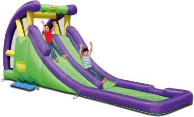 Надувная горка  Двойное скольжение , Happy Hop, артикул:5530684 - Детская площадка