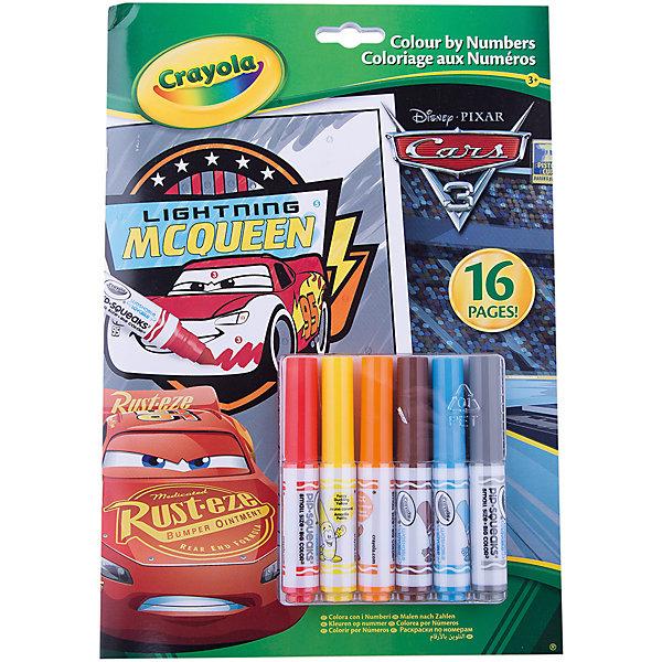 Crayola Раскраска по номерам Тачки 3 раскраска по номерам тихая улочка 28x39см