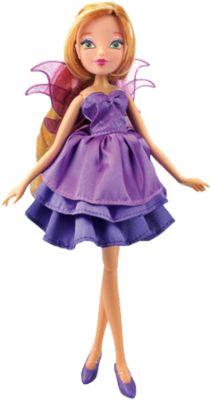 Кукла Флора  Волшебное платье , Winx Club, артикул:5532626 - Категории