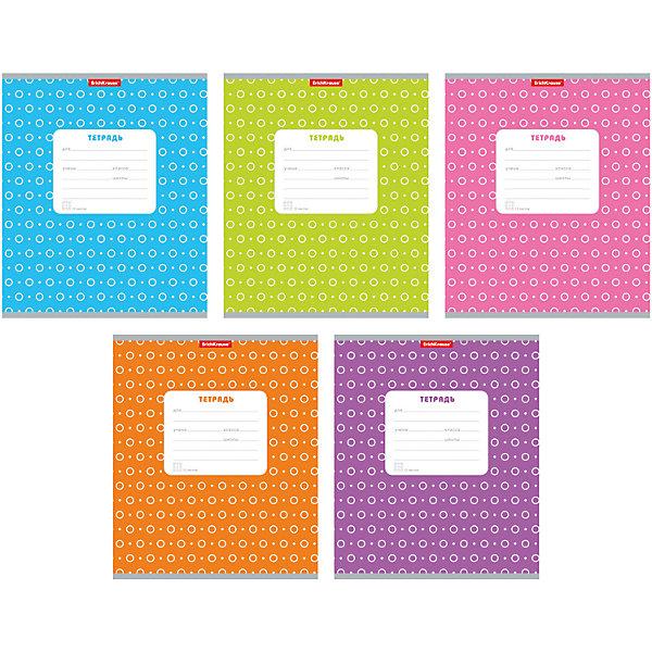 Тетрадь в клетку, 12 листов, горошек, упаковка из 10 шт.Тетради<br>Тетрадь 12 листов, горошек, 10 шт.<br>Характеристики:<br>• Количество: 10 шт. • Формат: А5 • Внутренний блок: 12 листов, клетка, офсет • Тип крепления: скрепка • Обложка: мелованный картон • Цвет обложки: в горошек, в ассортименте упаковки с тетрадями 5 цветов, в 1 упаковке 10 тетрадей одного цвета. К сожалению, выбрать цвет тетрадей заранее не представляется возможным.<br>Тетради в клетку с полями «Горошек» предназначены для школьников. Отличная полиграфия и качественная бумага обеспечат высокое качество письма. Обложка из мелованного картона позволит сохранять тетрадь в аккуратном виде в течение всего периода использования.<br>Тетрадь 12 листов, горошек, 10 шт. можно купить в нашем интернет-магазине.<br>Ширина мм: 170; Глубина мм: 20; Высота мм: 205; Вес г: 349; Возраст от месяцев: 60; Возраст до месяцев: 204; Пол: Унисекс; Возраст: Детский; SKU: 5540076;
