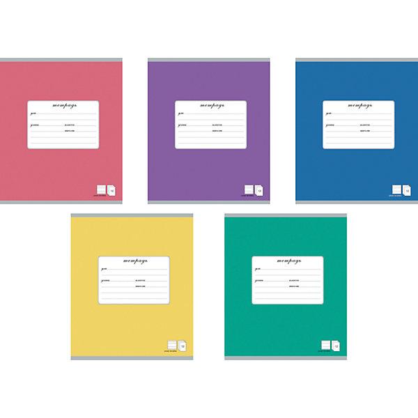 Тетрадь 18 листов, упаковка из 10 шт.Тетради<br>Тетрадь 18 листов, 10 шт.<br><br>Характеристики:<br><br>• Количество: 10 шт.<br>• Формат: А5<br>• Внутренний блок: 18 листов, клетка, с полями, офсет<br>• Тип крепления: скрепка<br>• Обложка: мелованный картон<br>• Упаковка: термопленка<br><br>Тетради в клетку с полями предназначены для школьников. Отличная полиграфия и качественная бумага обеспечат высокое качество письма. Обложка из мелованного картона позволит сохранять тетрадь в аккуратном виде в течение всего периода использования. На задней обложке тетради - таблица умножения, меры длины, площади, объема и массы.<br><br>Тетрадь 18 листов, 10 шт. можно купить в нашем интернет-магазине.<br>Ширина мм: 170; Глубина мм: 30; Высота мм: 205; Вес г: 349; Возраст от месяцев: 60; Возраст до месяцев: 204; Пол: Унисекс; Возраст: Детский; SKU: 5540086;