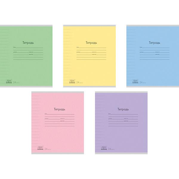 Erich Krause Тетрадь 24 листа , упаковка из 10 шт., линейка erich krause тетрадь 12 листов цвет голубой упаковка из 10 шт линейка