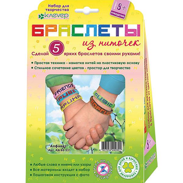 Клевер Набор для изготовления браслетов из нитей