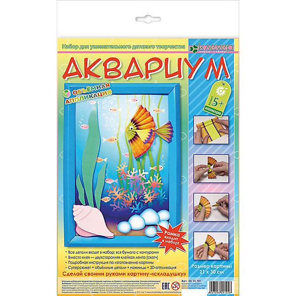 Набор для изготовления картины Аквариум, европодвесАппликации из бумаги<br>Характеристики:<br><br>• Коллекция: геометрическая аппликация<br>• Уровень сложности: средний<br>• Материал: картон, бумага, скотч, пластик<br>• Комплектация: набор элементов из цветного картона и бумаги, картонная основа, глазки, скотч, инструкция<br>• Форма картины: 3d<br>• Размеры готовой открытки (Ш*В): 21*30 см<br>• Размеры (Д*Ш*В): 22*34*5 см<br>• Вес: 52 г <br>• Упаковка: картонная коробка<br><br>Уникальность данных наборов заключается в том, что они состоят из материалов разных фактур. Благодаря использованию двухстороннего скотча, рабочее место и одежда ребенка не будет испачкана, а поделка будет выглядеть объемной и аккуратной.<br><br>Набор для изготовления картины Аквариум, европодвес состоит из всех необходимых материалов для создания картинки, изображающий аквариум. В комплекте предусмотрены глазки с подвижными зрачками для рыбок. <br><br>Набор для изготовления картины Аквариум, европодвес можно купить в нашем интернет-магазине.<br>Ширина мм: 220; Глубина мм: 340; Высота мм: 50; Вес г: 52; Возраст от месяцев: 60; Возраст до месяцев: 144; Пол: Унисекс; Возраст: Детский; SKU: 5541490;