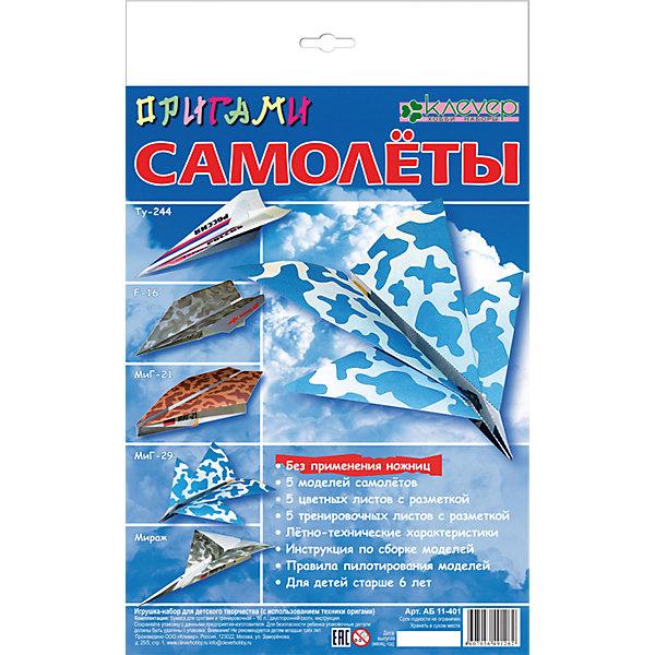 Набор для изготовления фигурок Самолеты. ОригамиНаборы для оригами<br>Характеристики:<br><br>• Коллекция: оригами<br>• Тематика: самолеты<br>• Уровень сложности: средний<br>• Материал: бумага<br>• Комплектация: тренировочные листы, цветные листы, брошюра-инструкция<br>• Размеры (Д*Ш*В): 22*34,3*2 см<br>• Вес: 64 г <br>• Упаковка: картонная коробка<br><br>Набор для изготовления фигурок Самолеты. Оригами состоит из набора цветных и черно-белых листов, презназначенных для освоения приемов складывания фигурок. На каждый лист нанесены пунктирные линии, которые облегчают процесс обучения оригами.<br><br>Набор для изготовления фигурок Самолеты. Оригами можно купить в нашем интернет-магазине.<br>Ширина мм: 220; Глубина мм: 343; Высота мм: 20; Вес г: 64; Возраст от месяцев: 96; Возраст до месяцев: 144; Пол: Мужской; Возраст: Детский; SKU: 5541597;