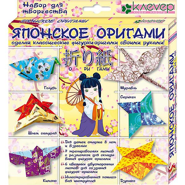 Клевер Набор для изготовления фигурок Японское оригами набор фигурок cut the rope 2 pack 9