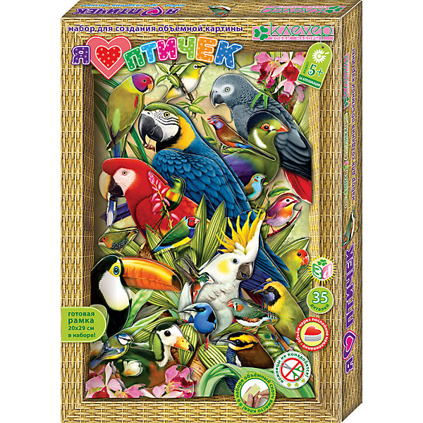 Клевер Набор для изготовления картины Я люблю птичек клевер набор для изготовления картины милая овечка