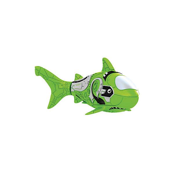 ZURU РобоРыбка Акула, зеленая,