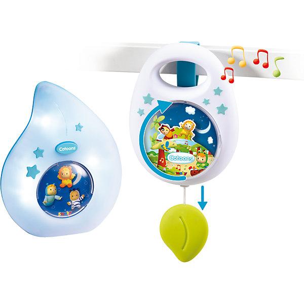 Smoby Набор для сна Cotoons: Музыкальная подвеска и ночник, Smoby smoby smoby cotoons набор для купания рыбалка 9 предметов