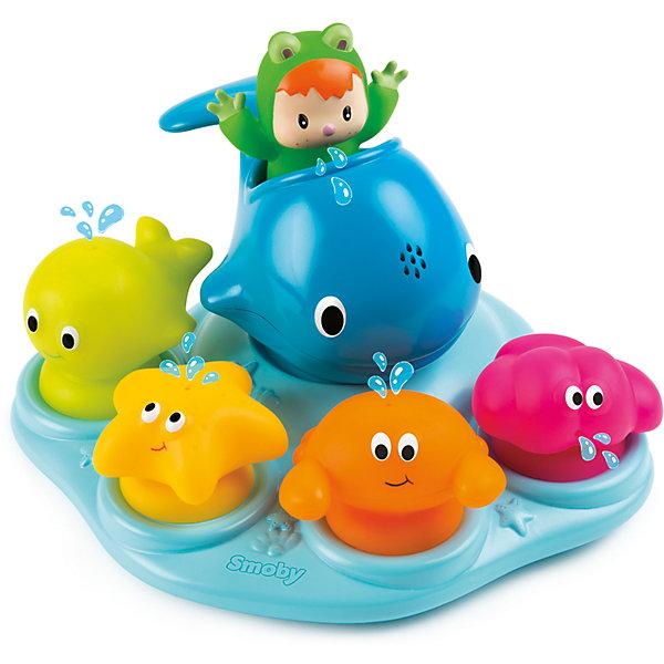 Smoby Островок морских обитателей для ванной, Smoby ролевые игры smoby инструмент многофункциональный 5 в 1 тачки 2