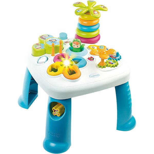 Smoby Развивающий игровой стол, синий,