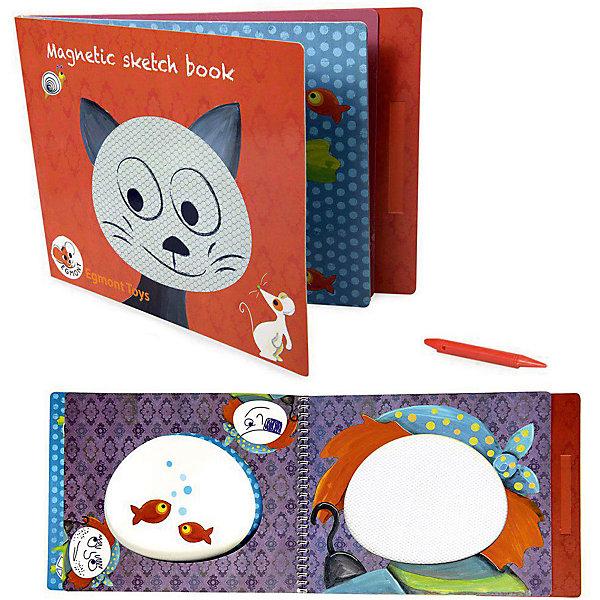 Настольная магнитная игра Котик, Egmont ToysНастольные игры для всей семьи<br>Характеристики:<br><br>• возраст: от 3-х лет;<br>• материал: картон, магнит;<br>• комплектация: магнитный блокнот, магнитная ручка;<br>• вес: 240 г;<br>• размеры (ДхШхВ): 29х21х1 см;<br><br>Детская настольная магнитная игра  «Котик», Egmont Toys – это магнитный альбом, предназначенный для обучения ребенка рисования по эскизам. <br><br>Набор состоит из блокнота и магнитной ручки. На каждой страничке нанесено изображение животных или предметов. На рисунке предусмотрены свободные магнитные поля, на которых ребенку необходимо дорисовать предмет или узор. <br><br>Детская настольная магнитная игра  «Котик», Egmont Toys – это целое обучающее рисованию пособие, которое позволит в легкой игровой форме научить ребенка основным приемам художественного творчества. <br><br>Детскую настольную магнитную игру  «Котик», Egmont Toys можно купить в нашем интернет-магазине.<br>Ширина мм: 290; Глубина мм: 210; Высота мм: 10; Вес г: 240; Возраст от месяцев: 36; Возраст до месяцев: 2147483647; Пол: Унисекс; Возраст: Детский; SKU: 5544495;