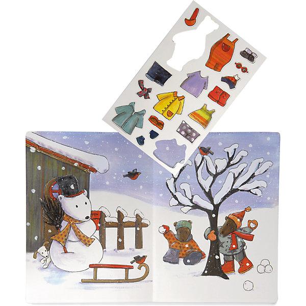 Купить Настольная магнитная игра Времена года с Медвежонком Максом , Egmont Toys, Бельгия, Унисекс