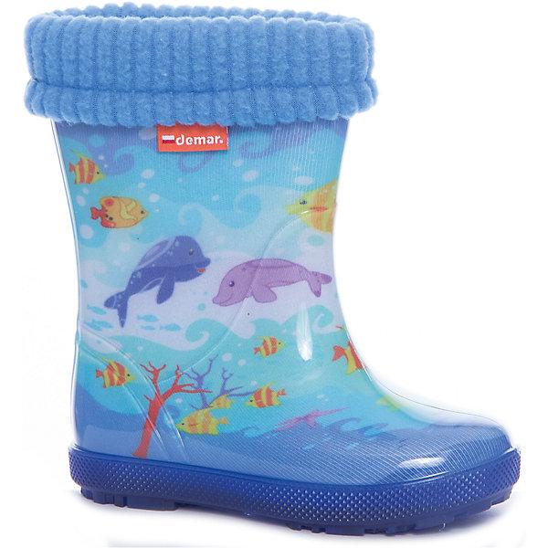 Demar Резиновые сапоги для мальчика DEMAR huili мужские дождевые сапоги водонепроницаемая противоскользящая непромокаемая обувь