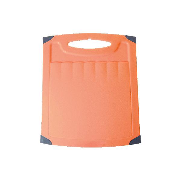 Доска разделочная Люкс №2, Plastic CentreКухонная утварь<br>Доска разделочная Люкс №2, Plastic Centre<br><br>Характеристики:<br><br>• Цвет: оранжевый<br>• Материал: пластик<br>• В комплекте: 1 штука<br>• Размер: 31х25 см<br><br>Хорошие разделочные доски позволят вам легко навести порядок на вашей кухне и не отвлекаться на мелочи. Эта доска оснащена специальным желобком, который поможет слить стекающую воду, не потревожив продукты. Изготовлены они из высококачественного пищевого пластика, который безопасен  для здоровья. Доска устойчива к запахам и порезам от ножа. Стильный дизайн не оставит равнодушным никого.<br><br>Доска разделочная Люкс №2, Plastic Centre можно купить в нашем интернет-магазине.<br>Ширина мм: 310; Глубина мм: 250; Высота мм: 6; Вес г: 365; Возраст от месяцев: 216; Возраст до месяцев: 1188; Пол: Унисекс; Возраст: Детский; SKU: 5545678;