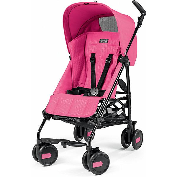 Peg Perego Коляска-трость Peg-Perego Pliko Mini с бампером, Mod Pink