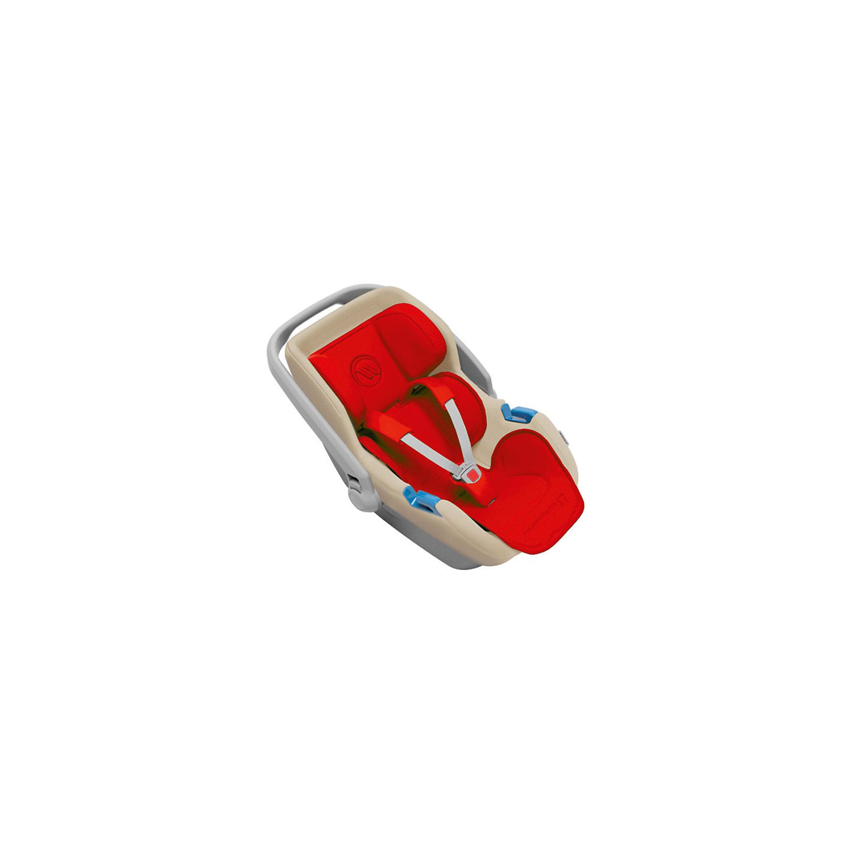 Автокресло Avionaut Jet, 0-13кг, красный/бежевый