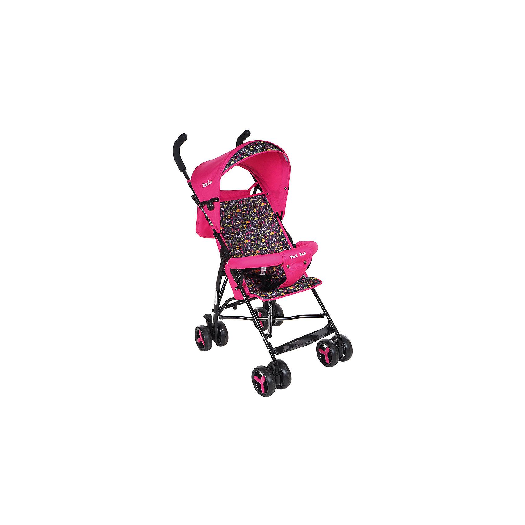 Коляска-трость Bambola BI-BI, розовый