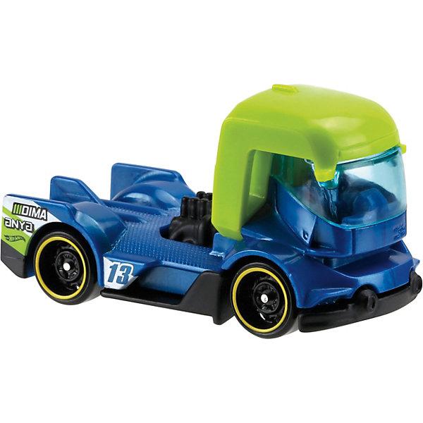 Базовая машинка Hot Wheels, Rig HeatМашинки<br>Характеристики товара:<br><br>• возраст: от 3 лет;<br>• материал: пластик, металл;<br>• масштаб: 1:64;<br>• размер упаковки: 11х11х4,5 см;<br>• вес упаковки: 30 гр.;<br>• страна бренда: США.<br><br>Машинка Hot Wheels из базовой коллекции — легендарная коллекционная машинка от известного бренда Mattel. Машинка отличается высокой детализацией, выглядит эффектно, корпус выполнен в ярких расцветках. Она дополнит большую коллекцию машинок Hot Wheels. Выполнена из прочных и безопасных материалов.<br><br>Машинку Hot Wheels из базовой коллекции можно приобрести в нашем интернет-магазине.<br>Ширина мм: 110; Глубина мм: 45; Высота мм: 110; Вес г: 30; Возраст от месяцев: 36; Возраст до месяцев: 96; Пол: Мужской; Возраст: Детский; SKU: 5559743;