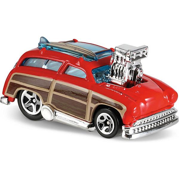 Базовая машинка Hot Wheels, Surf N TurfМашинки<br>Характеристики товара:<br><br>• возраст: от 3 лет;<br>• материал: пластик, металл;<br>• масштаб: 1:64;<br>• размер упаковки: 11х11х4,5 см;<br>• вес упаковки: 30 гр.;<br>• страна бренда: США.<br><br>Машинка Hot Wheels из базовой коллекции — легендарная коллекционная машинка от известного бренда Mattel. Машинка отличается высокой детализацией, выглядит эффектно, корпус выполнен в ярких расцветках. Она дополнит большую коллекцию машинок Hot Wheels. Выполнена из прочных и безопасных материалов.<br><br>Машинку Hot Wheels из базовой коллекции можно приобрести в нашем интернет-магазине.<br>Ширина мм: 110; Глубина мм: 45; Высота мм: 110; Вес г: 30; Возраст от месяцев: 36; Возраст до месяцев: 96; Пол: Мужской; Возраст: Детский; SKU: 5559745;