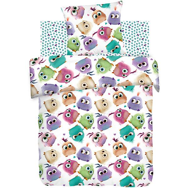 Детское постельное белье 1,5 сп. Непоседа, Angry Birds ПтенцыДетское постельное бельё<br>Постельное белье 1,5 Птенцы, бязь, Angry Birds (Энгри Бёрдс) (70*70) <br><br>Характеристики:<br><br>• пропускает воздух<br>• выводит лишнюю влагу<br>• обеспечивает комфортный сон<br>• красочный дизайн<br>• материал: бязь<br>• состав: 100% хлопок<br>• в комплекте: наволочка, простынь, пододеяльник<br>• размер наволочки: 70х70 см<br>• размер простыни: 214х150 см<br>• размер пододеяльника: 215х143 см<br>• вес: 1200 грамм<br><br>Птенцы Angry Birds очень милые и забавные. С таким бельем малышу будут сниться самые красочные сны! Белье изготовлено из бязи высокого качества. Она не усаживается после стирок и не теряет яркость цвета. Хлопок обеспечивает правильную циркуляцию воздуха и отводит лишнюю влагу, чтобы ребенок мог спать с комфортом.<br><br>Постельное белье 1,5 Птенцы, бязь, Angry Birds (Энгри Бёрдс) (70*70)  вы можете купить в нашем интернет-магазине.<br>Ширина мм: 500; Глубина мм: 250; Высота мм: 500; Вес г: 1200; Возраст от месяцев: 36; Возраст до месяцев: 144; Пол: Унисекс; Возраст: Детский; SKU: 5569309;