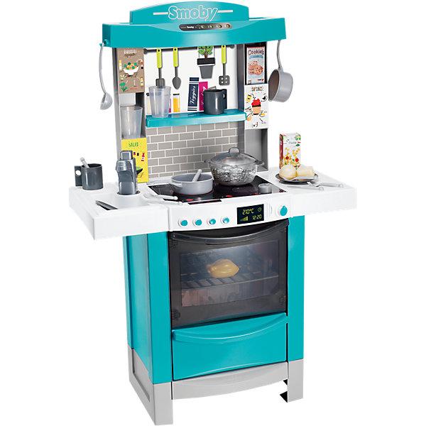 Smoby Кухня Smoby Tefal Cooktronic, свет, звук детская кухня с аксесс свет звук bt543406 1 kari
