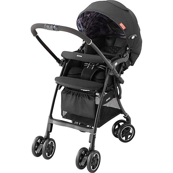 Фотография товара прогулочная коляска Aprica Luxuna CTS, чёрный (5571394)