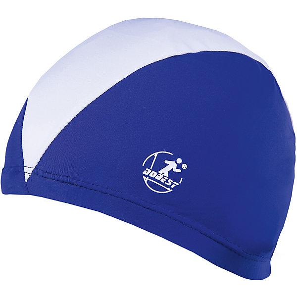 Dobest Шапочка для плавания полиэстеровая, темно-синяя, Dobest dobest силиконовая шапочка для плавания dobest с рисунком голубая